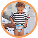 Pull-Ups® Potty Training out of Diapers