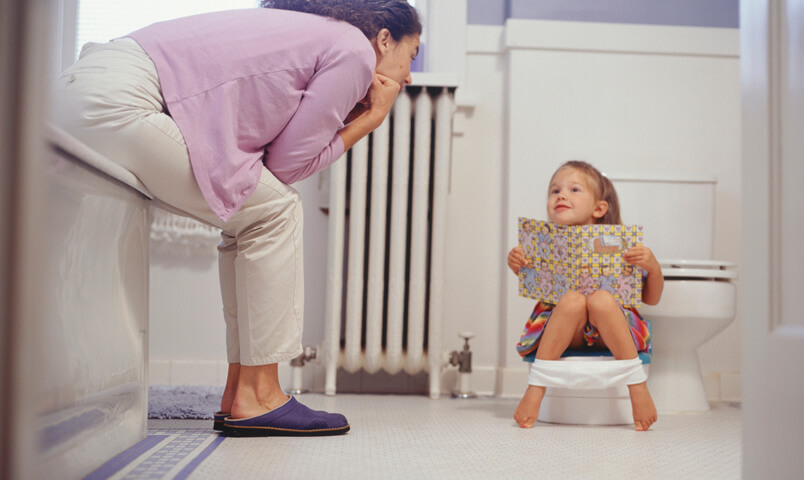 Play fun potty training games to keep your child excited about the bathroom