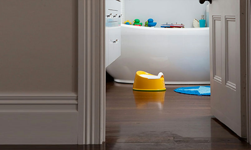 How to handle potty training regression and setbacks