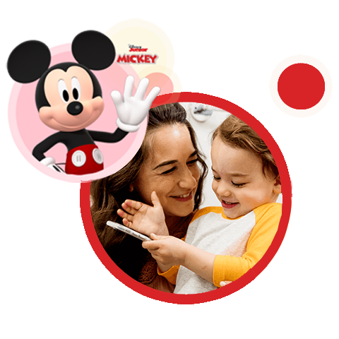 Mickey Mouse Character Call Image.
