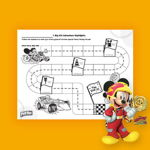 Mickey Mouse Sticker Chart