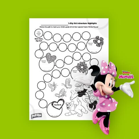 Minnie Mouse Rewards Chart
