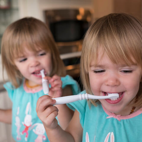 The ups and downs of potty training twins