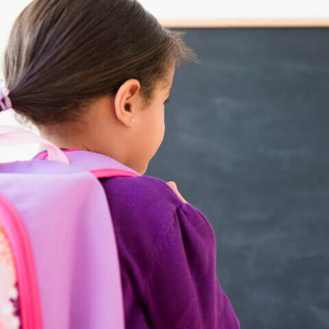 Potty training child goes to preschool