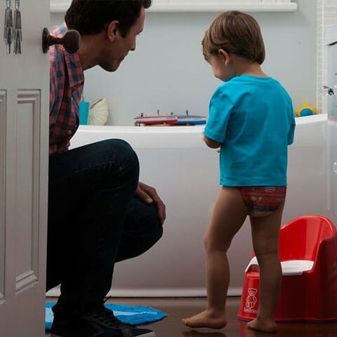Great tips and tricks for helping a child who refuses to use the potty
