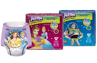 Save on Overnight Pull-Ups® Training Pants for Boys and Girls