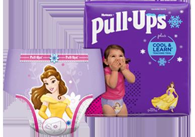 Girl Pull Up Diaper