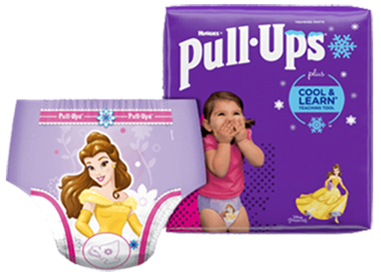 Pull-Ups® Cool & Learn® Potty Training Pants and Diapers for Girls
