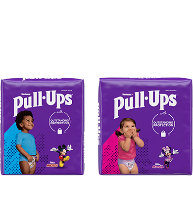 Discover the different types of Pull-Ups® Training Pants for boys and girls