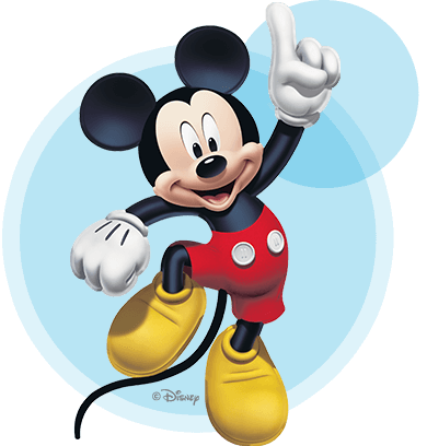 Personnage de Mickey Mouse