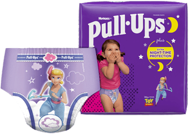 Pull-Ups® Night*Time® Potty Training Pants and Diapers for Girls
