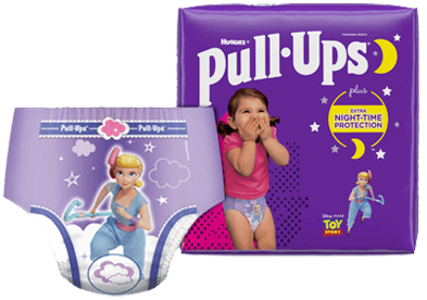 Pull-Ups® Night*Time® Potty Training Pants for Girls