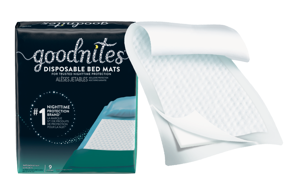 GoodNites® Bed Mats for bedwetting