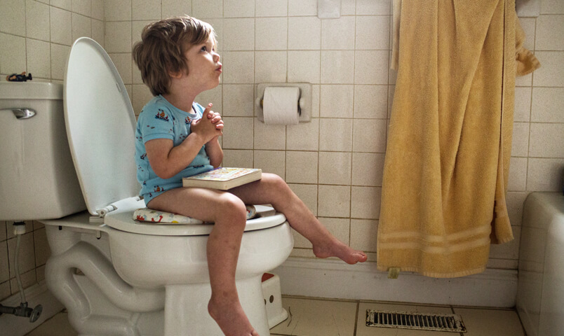 Potty training for boys and girls by ages