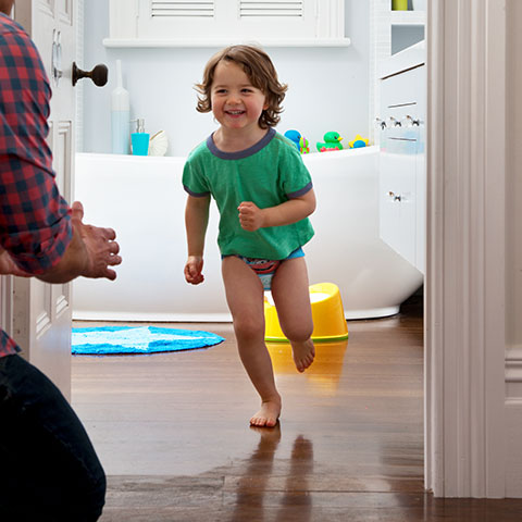 Working parents needs all the potty training help that they can get