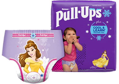 Pull-Ups® Cool & Learn® Potty Training Pants for Girls