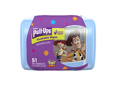 Pull-Ups® Big Kid Flushable Wipes